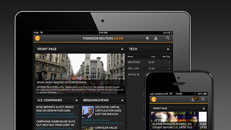 Eikon mobile apps